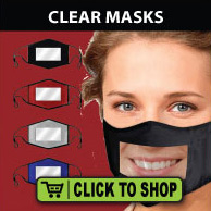 Clear masks